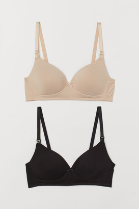 H&M MAMA 2-pack nursing bras