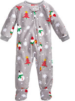 Family Pajamas 1-Pc Happy Gnomes Footed Pajamas, Baby Boys' or Baby Girls' (12-24 months) & Toddler Boys' or Toddler Girls' (2T-3T) Created for Macy's