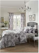 Dorma Watery Rose 100% Cotton 300 Thread Count Duvet Cover