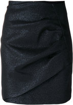 IRO ruched mini skirt
