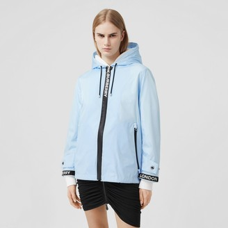 Burberry Logo Tape ECONYL Hooded Jacket