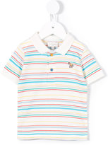 Paul Smith striped polo shirt - kids - Cotton - 9 mth