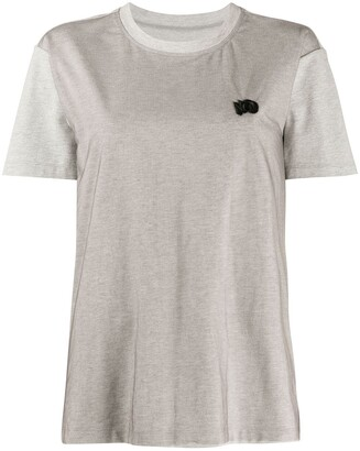 Viktor & Rolf No embroidered boxy fit T-shirt