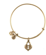 Alex and Ani Key To Heart Bracelet