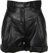 Philosophy di Lorenzo Serafini Philosophy Faux Leather Shorts