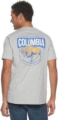 Columbia Men's Modern-Fit Buffalo Graphic Tee