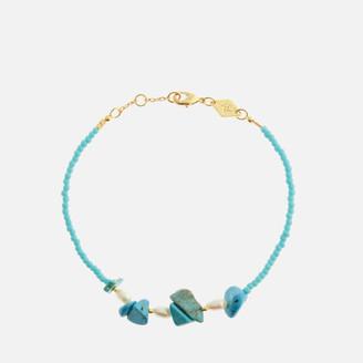 Anni Lu Women's Emmanuelle Bracelet - Aqua Sky