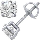 Zales 2 CT. T.W. Certified Diamond Stud Earrings in Platinum (I/VS2)