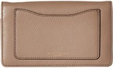 Marc Jacobs Recruit Wallet Leather Strap Wallet Handbags