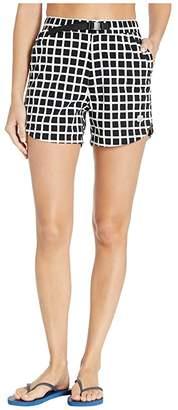 Topo Designs River Shorts - Print (Black Grid) Women's Shorts