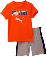 Puma Graphic Tee & Short Set (Baby Boys)