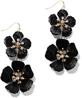 New York & Co. Statement Floral Drop Earring