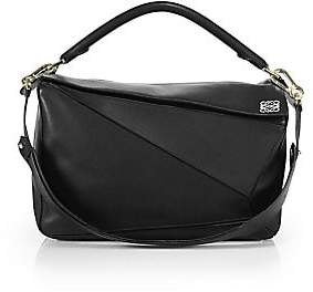 Loewe Women's Large Puzzle Leather Bag