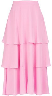 Stella McCartney Layered Ruffle Midi Skirt
