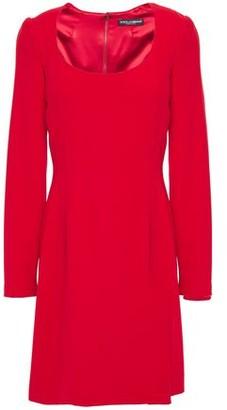 Dolce & Gabbana Stretch-crepe Mini Dress