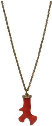 Kenneth Jay Lane Green Gold plated Necklaces