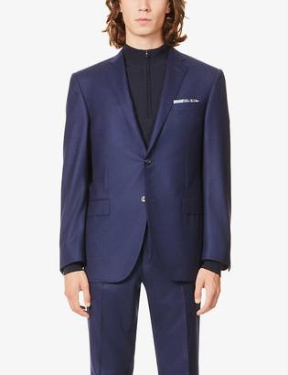 Corneliani Single-breasted wool jacket
