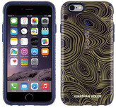 Speck CandyShell Inked iPhone 6/6s Case - Malachite Black Gold/Berry Black Purple