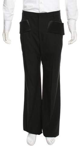 Givenchy Wool Flat Front Pants w/ Tags