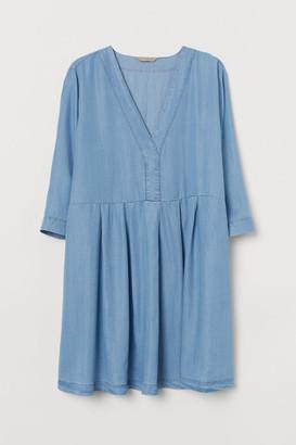 H&M H&M+ Lyocell Dress - Blue