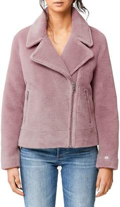 Soia & Kyo Wool-Blend Faux Shearling Jacket