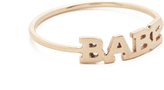 Zoe Chicco 14k Gold Babe Pinky Ring