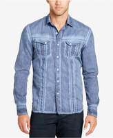 William Rast Men's Light Blue Denim Shirt
