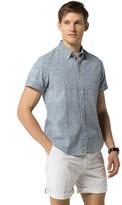 Tommy Hilfiger Final Sale- Slim Fit Short Sleeve Shirt