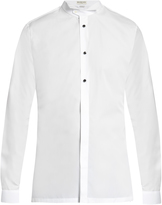 Balenciaga Wing-collar cotton-poplin dinner shirt