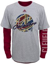 adidas Boys 4-7 Cleveland Cavaliers Cager Tee Set