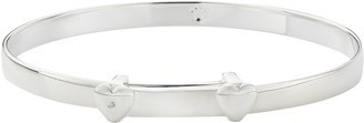 Molly Brown London Sterling Silver My First Diamond Christening Bangle