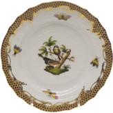 Herend Rothschild Bird Brown Motif 2 Bread & Butter Plate
