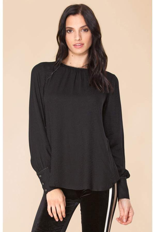 9993f2bdf2d890 Hale Bob Brown Women's Longsleeve Tops - ShopStyle
