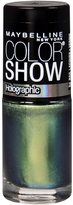 Maybelline Color Show Holographic Nail Lacquer Mystic Green