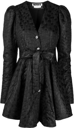 Rotate by Birger Christensen Textured Mini Dress