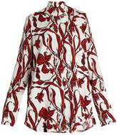 Ellery Visual Wonder floral-print blouse