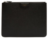 Givenchy Grained-leather Pouch