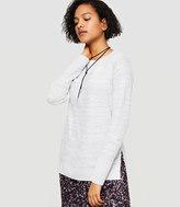 Lou & Grey Slitside Sweater Tunic