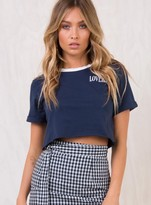 Somedays Lovin Land Of Lovers Cropped Tee