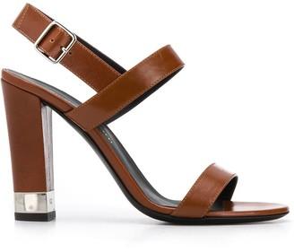Giuseppe Zanotti Clear Heel Sandals