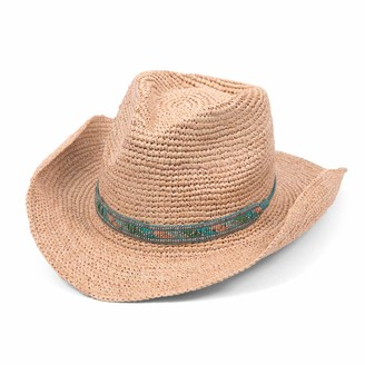 Ale By Alessandra Women's Renegade Sunhat in Natural Adjustable