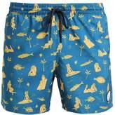 O'Neill THIRST FOR SURF Swimming shorts blue/yelloworange