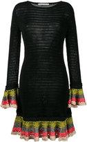 Marco De Vincenzo knitted ruffle cuff dress