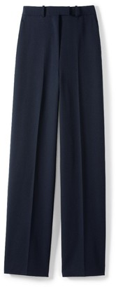 St. John Soft Twill Suiting Pant W/ Side Pockets & Back Welt Pockets