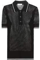 Etoile Isabel Marant Isabel Marant, Étoile Drogo open-knitted polo shirt