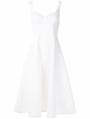 Tufi Duek linen midi dress