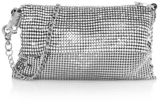Whiting & Davis Saint Crystal Crossbody Bag