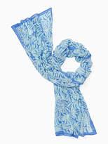 Kate Spade Sea ferns oblong scarf