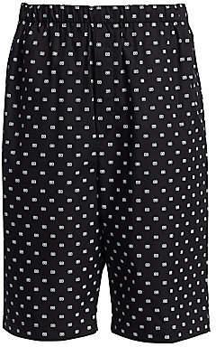 Balenciaga Men's Logo Print Boxer Shorts