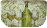 Bacova Vino 18-Inch x 30-Inch Memory Foam Slice Kitchen Mat in Green